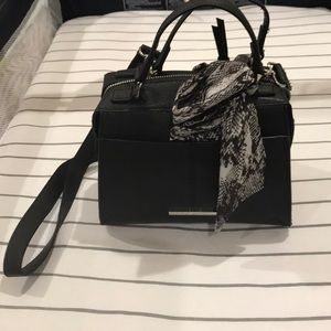 Steve Madden Crossbody Bag with scarf detail